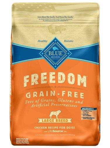 Blue Buffalo Blue Buffalo Freedom Large Breed Chicken Dry Dog Food 24#