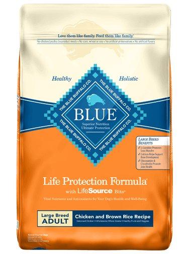 Blue Buffalo Blue Buffalo LPF Large Breed Chicken & Rice Dry Dog Food 30#