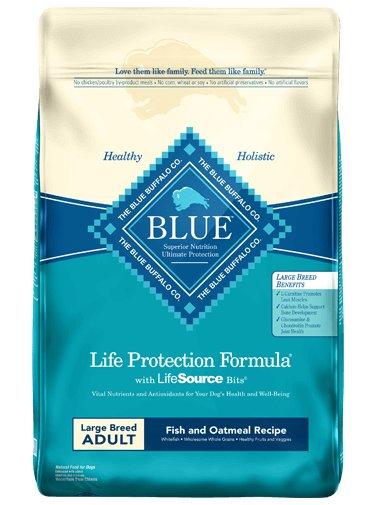 Blue Buffalo Blue Buffalo LPF Large Breed Fish & Oatmeal Dry Dog Food 30#