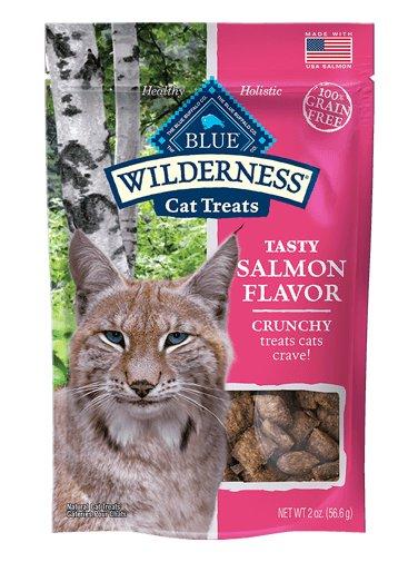 Blue Buffalo Blue Buffalo Wilderness Crunchy Salmon Cat Treats 2oz