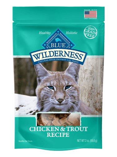 Blue Buffalo Blue Buffalo Wilderness Chicken & Trout Cat Treat 2oz