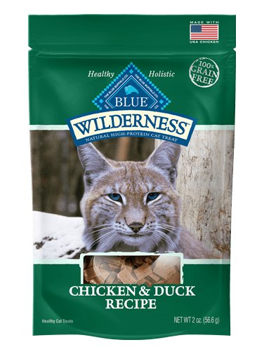 Blue Buffalo Blue Buffalo Wilderness Chicken & Duck Cat Treats 2oz