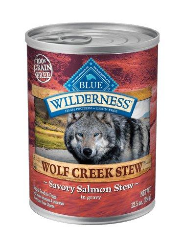 Blue Buffalo Blue Buffalo Wilderness Wolf Creek Stew Savory Salmon Wet Dog Food 12.5oz