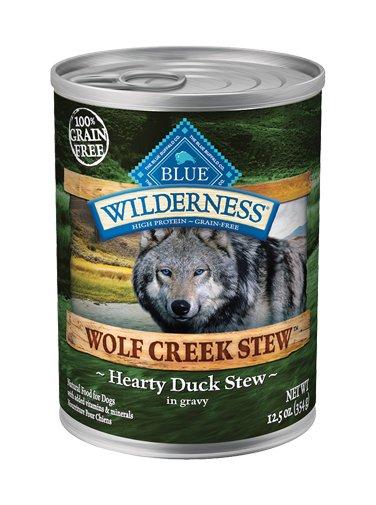 Blue Buffalo Blue Buffalo Wilderness Wolf Creek Stew Hearty Duck Wet Dog Food 12.5oz