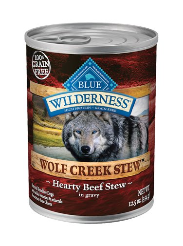 Blue Buffalo Blue Buffalo Wilderness Wolf Creek Stew Hearty Beef Wet Dog Food 12.5oz