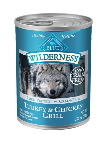Blue Buffalo Blue Buffalo Wilderness Turkey & Chicken Wet Dog Food 12.5oz