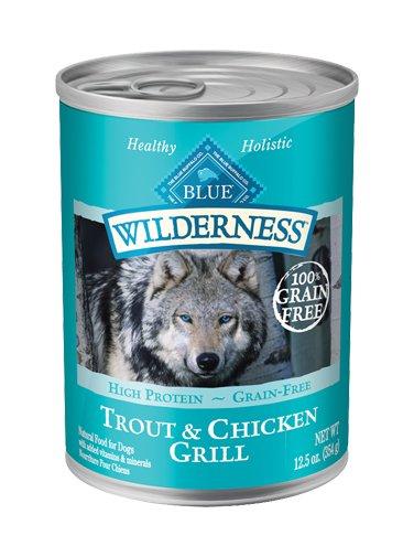 Blue Buffalo Blue Buffalo Wilderness Trout & Chicken Wet Dog Food 12.5oz