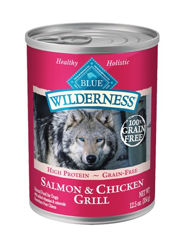 Blue Buffalo Blue Buffalo Wilderness Salmon & Chicken Wet Dog Food 12.5oz