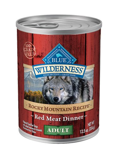 Blue Buffalo Blue Buffalo Wilderness Rocky Mountain Red Meat Wet Dog Food 12.5oz