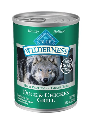 Blue Buffalo Blue Buffalo Wilderness Duck & Chicken Wet Dog Food 12.5oz