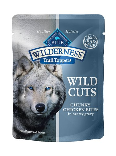 Blue Buffalo Blue Buffalo Wilderness Trail Toppers Wild Cuts Chunky Chicken Bites Wet Dog Food 3oz