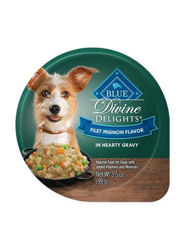 Blue Buffalo Blue Buffalo Divine Delights Filet Mignon in Hearty Gravy Wet Dog Food 3.5oz