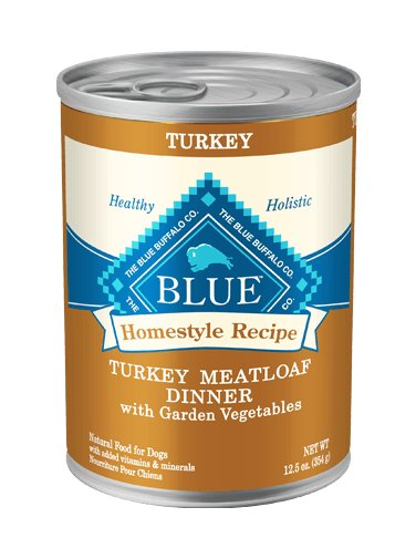 Blue Buffalo Blue Buffalo Homestyle Turkey Meatloaf Dinner Wet Dog Food 12.5oz