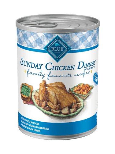Blue Buffalo Blue Buffalo Family Favorite Sunday Chicken Dinner Wet Dog Food 12.5oz