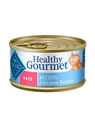 Blue Buffalo Blue Buffalo Healthy Gourmet Pate Kitten Chicken Wet Cat Food 3oz
