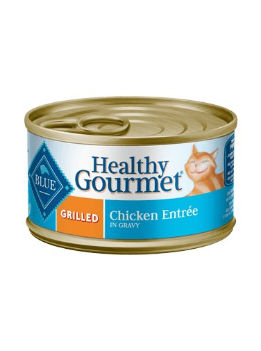 Blue Buffalo Blue Buffalo Healthy Gourmet Grilled Chicken Wet Cat Food 3oz