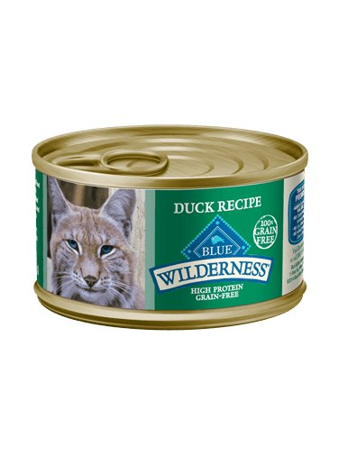 Blue Buffalo Blue Buffalo Wilderness Duck Wet Cat Food 3oz
