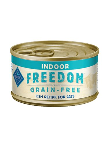 Blue Buffalo Blue Buffalo Freedom Indoor Fish Wet Cat Food 5.5oz