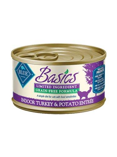 Blue Buffalo Blue Buffalo Basics Turkey & Potato Wet Cat Food 3oz