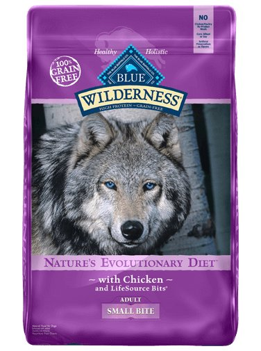 Blue Buffalo Blue Buffalo Wilderness Small Bite Chicken Dry Dog Food 24#