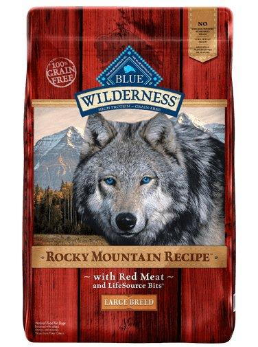 Blue Buffalo Blue Buffalo Wilderness Rocky Mountain Large Breed Red Meat Dry Dog Food 22#