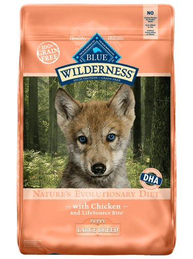 Blue Buffalo Blue Buffalo Wilderness Large Breed Puppy Chicken Dry Dog Food 24#