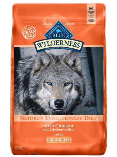 Blue Buffalo Blue Buffalo Wilderness Large Breed Chicken Dry Dog Food 24#