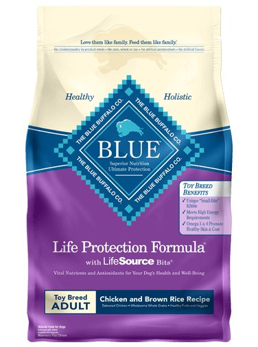 Blue Buffalo Blue Buffalo Life Protection Formula Toy Breed Chicken & Rice Dry Dog Food 4#