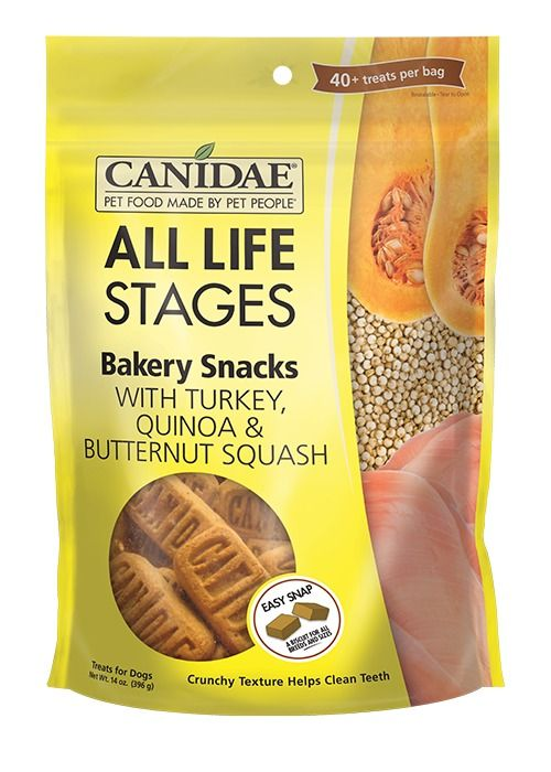 Canidae Canidae Bakery Snacks with Turkey, Quinoa & Butternut Squash Dog Treats 14oz