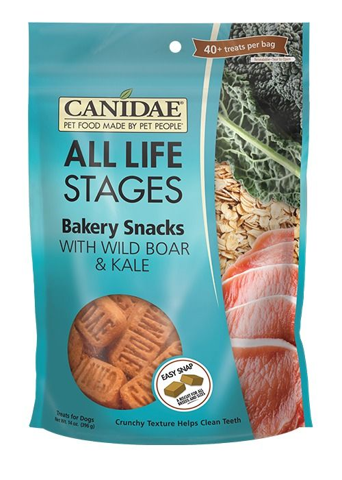 Canidae Canidae Bakery Snacks with Wild Boar & Kale Dog Treats 14oz