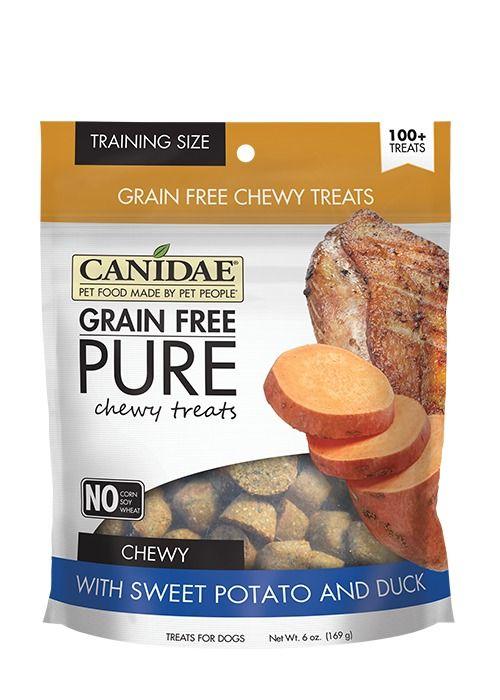 Canidae Canidae Grain Free Pure Chewy Sweet Potato & Duck Dog Treats 6oz