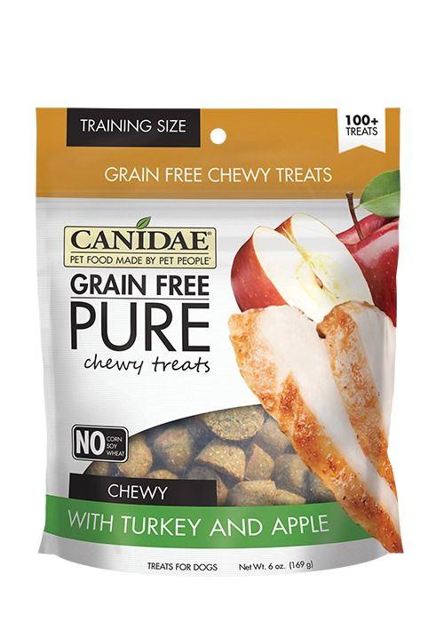 Canidae Canidae Grain Free Pure Chewy Turkey & Apple Dog Treats 6oz