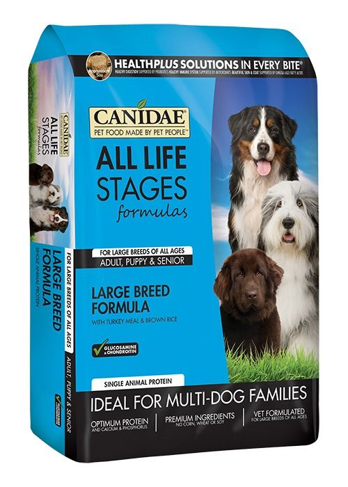 Canidae Canidae All Life Stages Large Breed Turkey Meal & Brown Rice Dry Dog Food