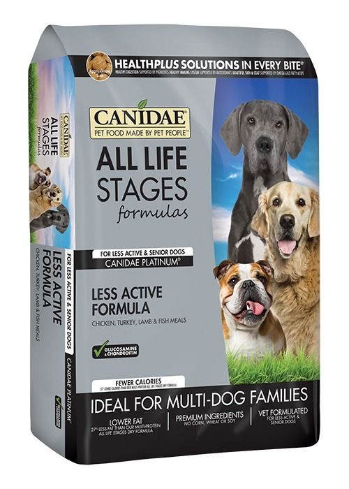Canidae Canidae All Life Stages Platinum Less Active Dry Dog Food