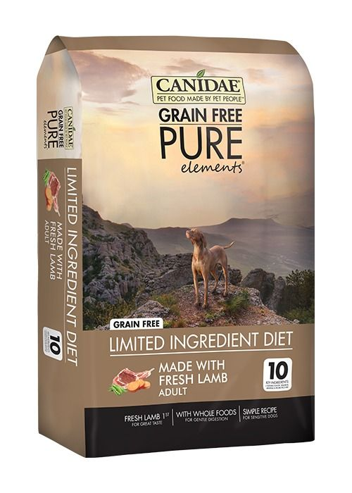 Canidae Canidae Grain Free Pure Elements with Real Lamb Dry Dog Food 24#