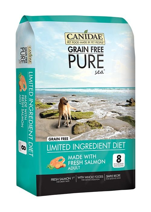 Canidae Canidae Grain Free Pure Sea with Real Salmon Dry Dog Food 24#