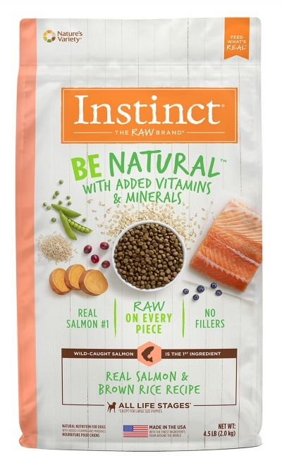 Instinct Instinct Be Natural Salmon & Brown Rice Dry Dog Food