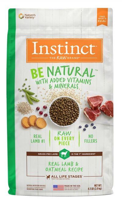 Instinct Instinct Be Natural Lamb & Oatmeal Dry Dog Food