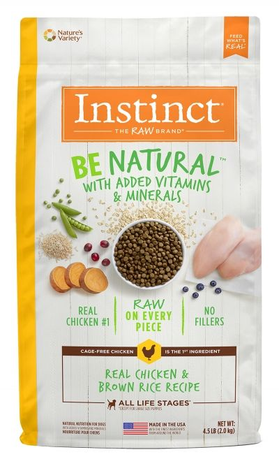 Instinct Instinct Be Natural Chicken & Brown Rice Dry Dog Food
