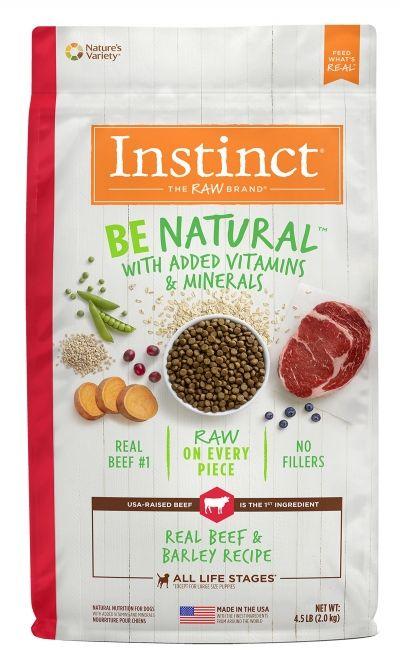 Instinct Instinct Be Natural Beef & Barley Dry Dog Food