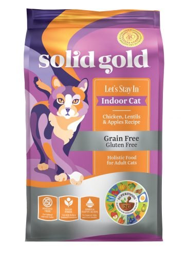 Solid Gold Solid Gold Let's Stay In with Chicken Indoor Dry Cat Food 6#