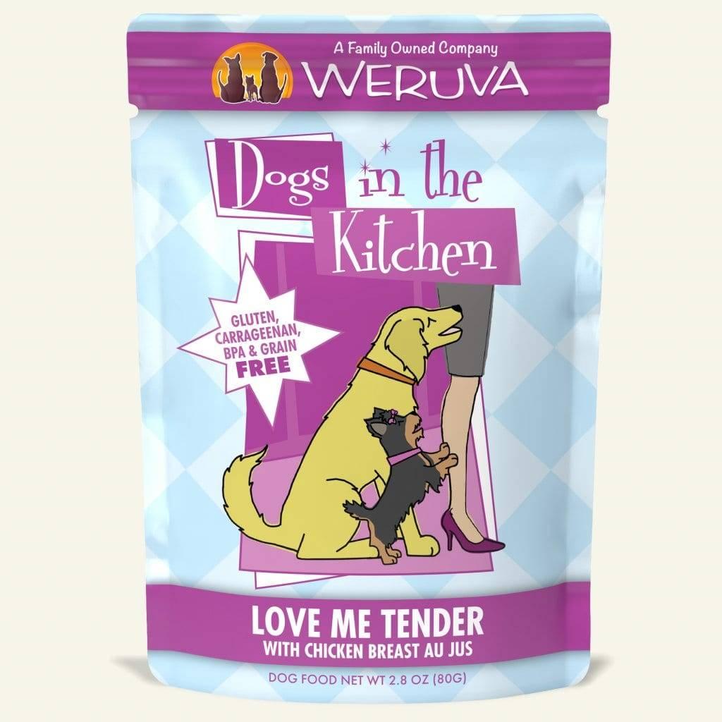 Weruva Weruva Dogs In The Kitchen Love Me Tender Wet Dog Food Pouch 2.8oz