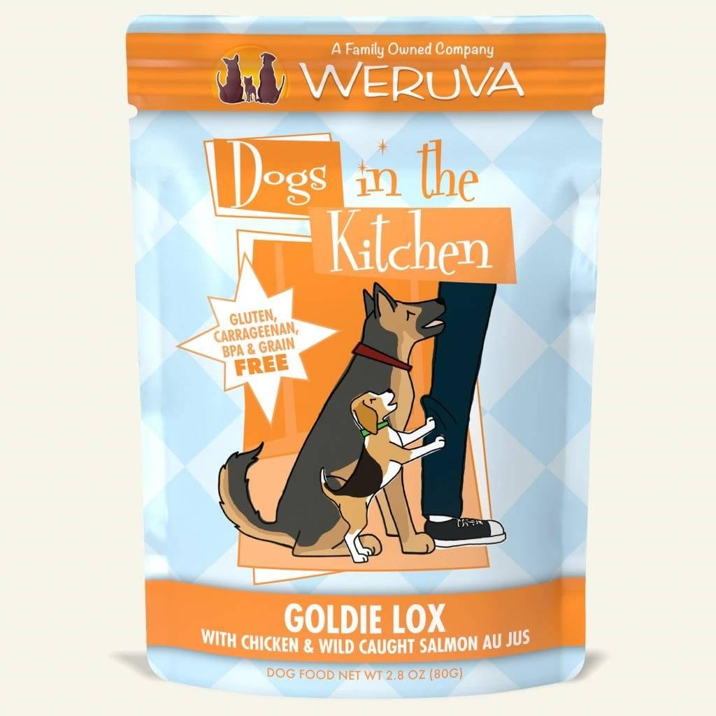 Weruva Weruva Dogs In The Kitchen Goldie Lox Wet Dog Food Pouch 2.8oz