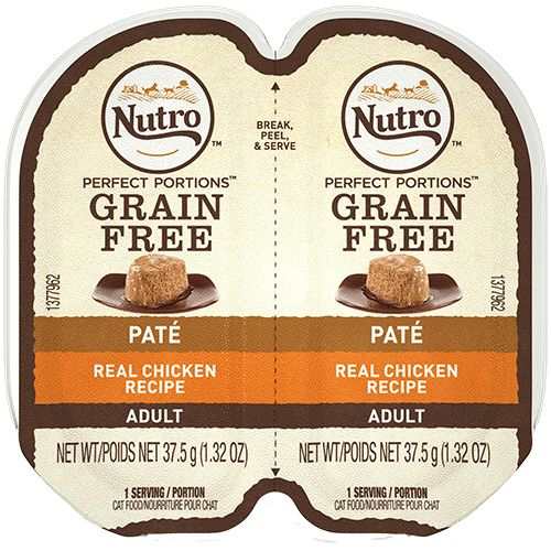 Nutro Nutro Perfect Portions Chicken Pate Wet Cat Food 2.65oz