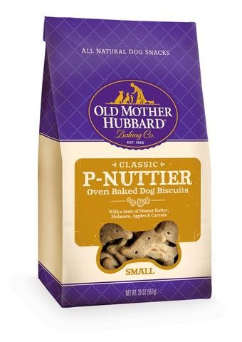 Wellness Old Mother Hubbard Classic P-Nuttier Biscuits Dog Treats
