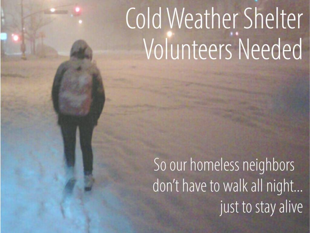 Community Partner Spotlight: Monroe Cold Weather Shelter!