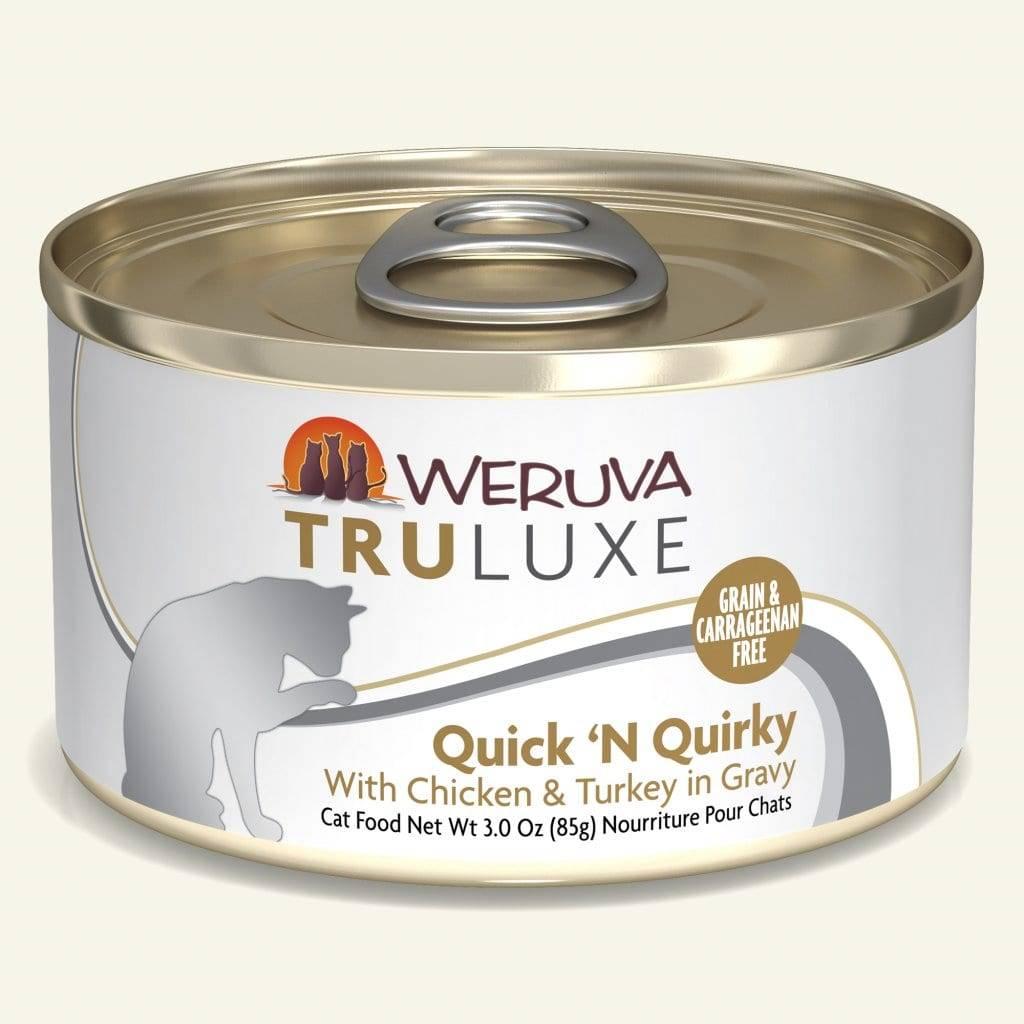 Weruva Weruva TruLuxe Quick 'N Quirky Wet Cat Food 6oz
