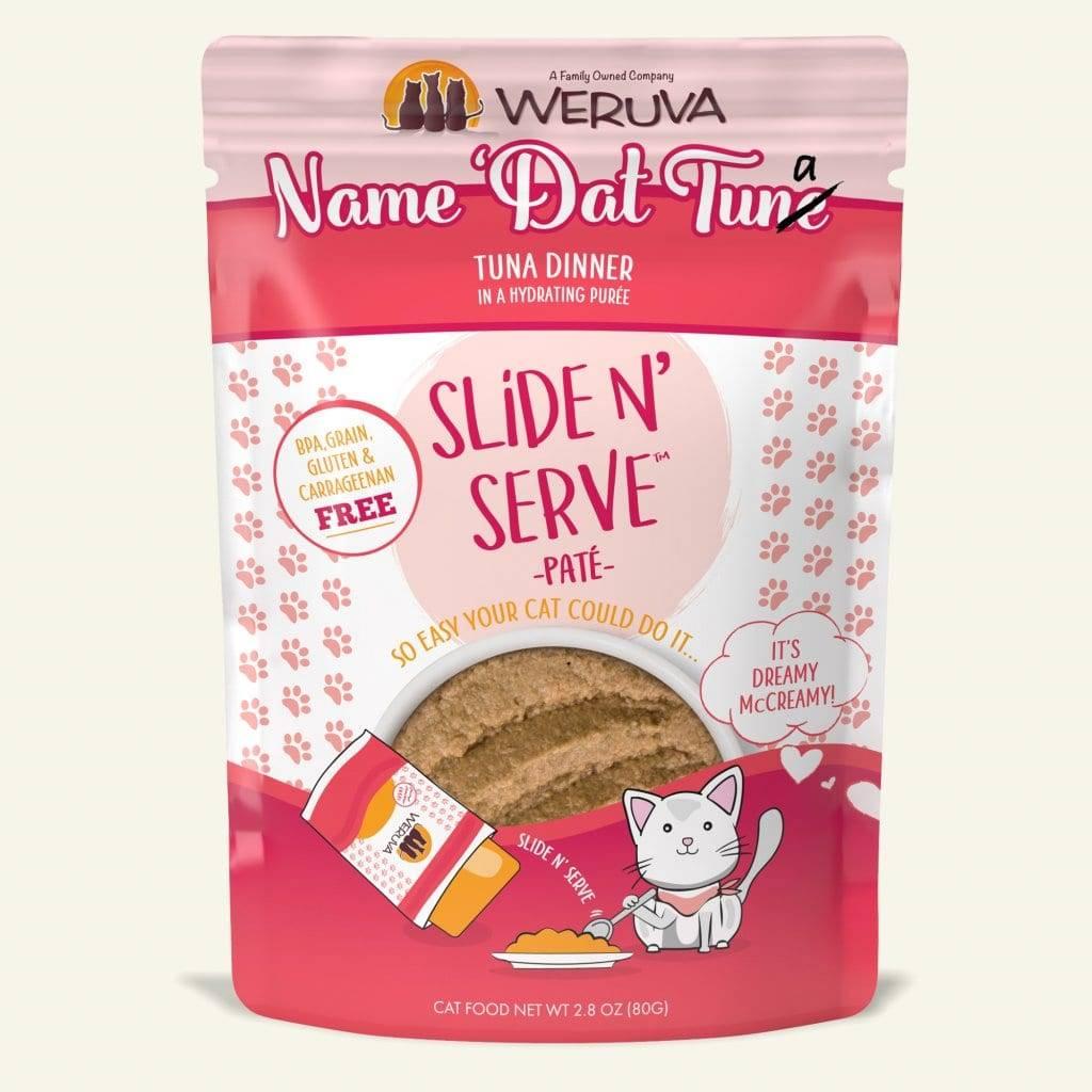 Weruva Weruva Slide N' Serve Pate Name 'Dat Tuna Wet Cat Food