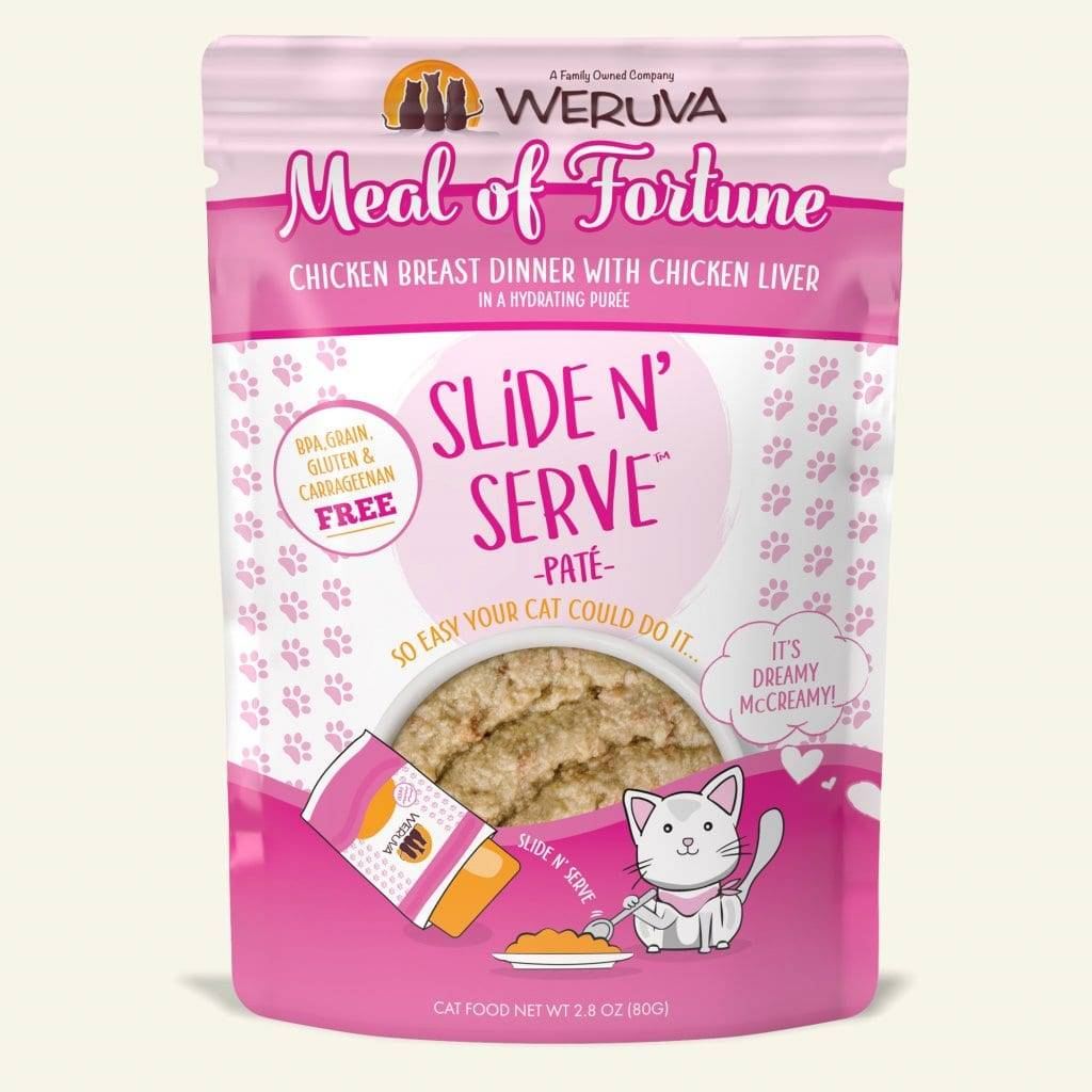 Weruva Weruva Slide N' Serve Pate Meal of Fortune Wet Cat Food
