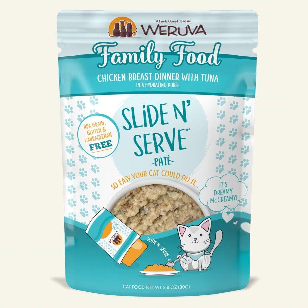 Weruva Weruva Slide N' Serve Pate Family Food Wet Cat Food